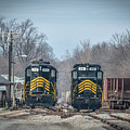 ioneer Lines PREX 912 and 806 at Evansville Indiana by Jim Pearson