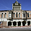 Watsonville I. O. O. F. Building Built In 1893  Damaged By The Loma Prieta Earthquake 1989 by California Views Archives Mr Pat Hathaway Archives