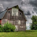 Iowa Barn by Dave Rennie