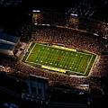 Iowa State Jack Trice Stadium Aerial  by Iowa State