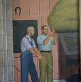 Iowa State Mural - 2 by David Bearden