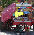 Iquique Chile Street Cart by Brett Winn