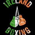 Ireland Boxing Color Light Boxers Irish Cool Gift Funny Flag by J P
