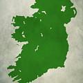 Ireland Grunge Map by Dan Sproul