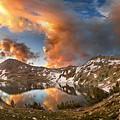 Ireland Lake Sunrise - Yosemite by Bruce Lemons
