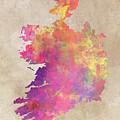 Ireland Map  by Justyna JBJart