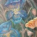Irises by Corina Lupascu