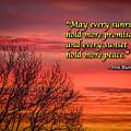 Irish Blessing - May Every Sunrise... by James Truett