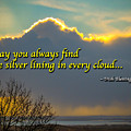 Irish Blessing-may You Always Find The Silver Lining... by James Truett
