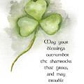 Irish Blessing by Nancy Ingersoll