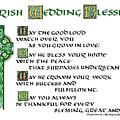 Irish Celtic Wedding Blessing by Jacqueline Shuler