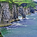 Irish Coast by Nina Ficur Feenan