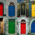Irish Doors by Joe Bonita