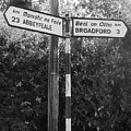 Irish Village Sign County Limerick. by Andy Donald