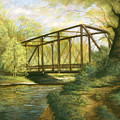 Iron Bridge Over Cicero Creek by Michael Scherer