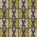 Iron Chains With Glazed Tiles Seamless Texture by Miroslav Nemecek