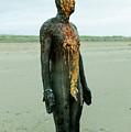 Iron Man Front, Crosby Beach Liverpool by Jacek Wojnarowski