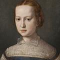 Isabella De Medici  by Attributed to Bronzino