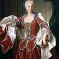 Isabella Farnese. Queen Of Spain by Jean Ranc