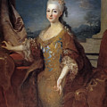Isabella Louise Of Orleans. Queen Of Spain by Jean Ranc