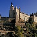 Isabella's Castle In Segovia by Carl Purcell
