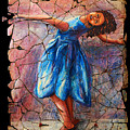 Isadora Duncan - 1 by OLena Art Brand