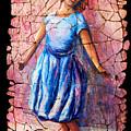 Isadora Duncan - 2 by OLena Art Brand
