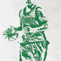 Isaiah Thomas Boston Celtics Pixel Art by Joe Hamilton
