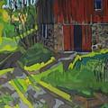 Isaiah Tubbs Barn by Phil Chadwick