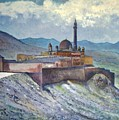 Ishak Pasa Palace Dogubayarzit Anatolia Turkey 2006  by Enver Larney