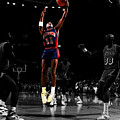 Isiah Thomas Finger Roll by Brian Reaves