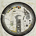 Islamic World Map, 10th Century by Wellcome Images