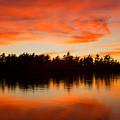 Island At Sunset by Irwin Barrett