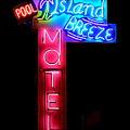 Island Breeze Motel by Betsy Warner