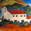 Island Church by Donna Steward