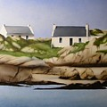 Island Cottages by Kevin Gallagher