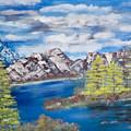 Island Cove by Mikki Alhart
