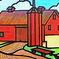 Island Ford Barn 2 by Jim Harris