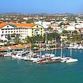 Island Harbor by Gary Wonning