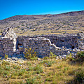 Island Of Krk Old Stone Ruins by Brch Photography