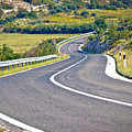 Island Of Pag Curvy Road by Brch Photography