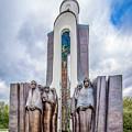 Island Of Tears Afghanistan Memorial by Andy Crawford