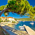 Island Of Vis Seafront Walkway View by Brch Photography