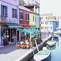 Island Off Burano Italy  by John McGraw