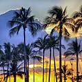 Island Sunset by AJ Schibig