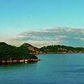 Island Sunset by Gary Wonning