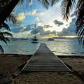 Island Sunset by Jon Neidert