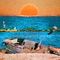 Island Sunset by Kenneth Krolikowski