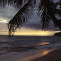 Island Sunset by Mike Bambridge