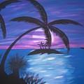 Island Sunset by Paula Ferguson